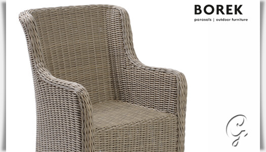 outdoor korbstuhl savannah von borek. Black Bedroom Furniture Sets. Home Design Ideas