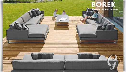 design gartenlounge couch modul serano. Black Bedroom Furniture Sets. Home Design Ideas