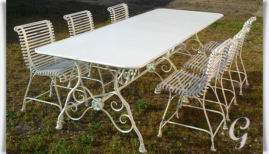 Outdoor Möbel Gartentisch Renan Gartentraumde