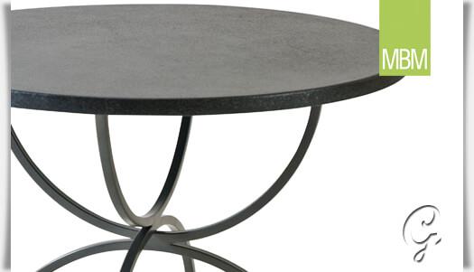 Gartentisch rund metall mbm  Runder Tisch für Garten & Balkon »Universal« • Gartentraum.de