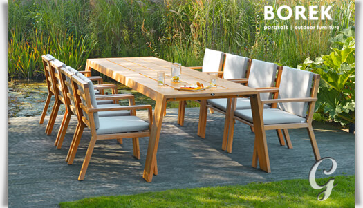 borek gartentisch viking gro teak holz. Black Bedroom Furniture Sets. Home Design Ideas
