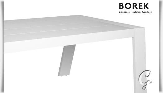 gro er gartentisch viking aus aluminium. Black Bedroom Furniture Sets. Home Design Ideas
