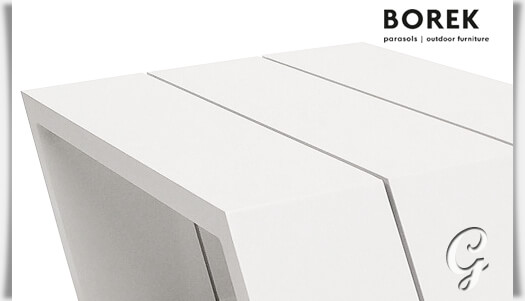 outdoor beistelltisch viking aus alu. Black Bedroom Furniture Sets. Home Design Ideas