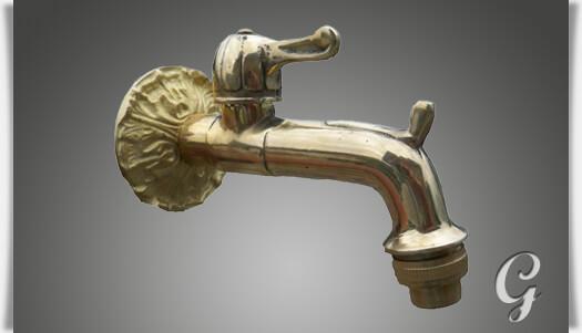 Wasserhahn Messing Antik Kuche : Nostalgischer Wasserhahn Messing - Wasserhahn