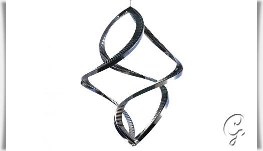 windspiel ventolo aus edelstahl. Black Bedroom Furniture Sets. Home Design Ideas