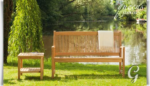 garten bank 3 sitzer york von queen 39 s garden. Black Bedroom Furniture Sets. Home Design Ideas