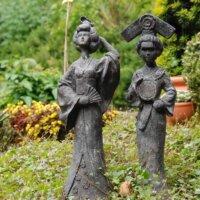 Nicht nur Budda-Figuren, sondern auch andere Statuen passen gut in einen japanischen Garten © Fotolia.com
