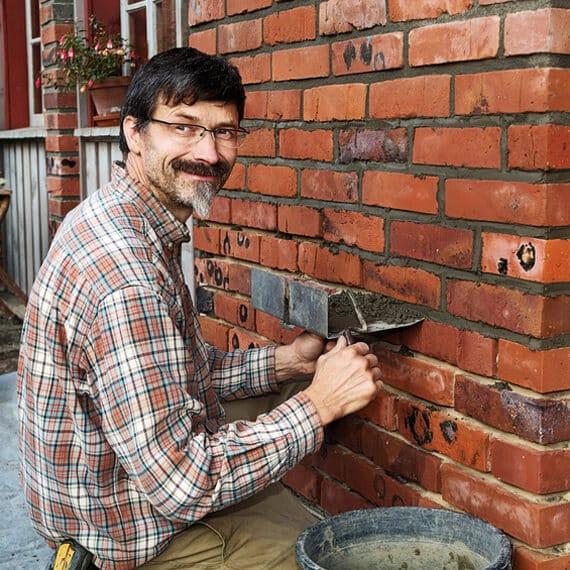 Tipps und Tricks beim Verfugen eines Mauerwerks