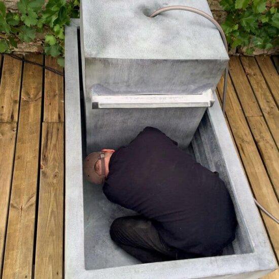 Schlauch mit Pumpe verbinden