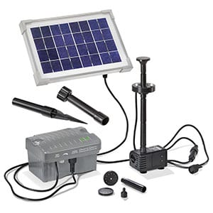 Eine Grafik zu Solarpumpen mit Akku kaufen