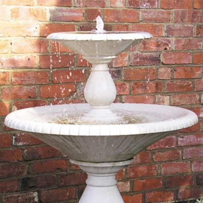 Freistehender Kaskadenbrunnen