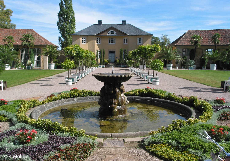 Orangerie Weimar Belvedere Garten