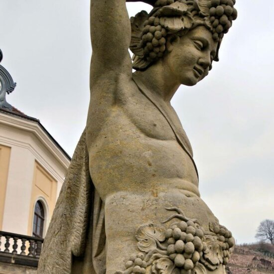 Figuren & Skulpturen Dresdener Schlösser © Gartentraum.de
