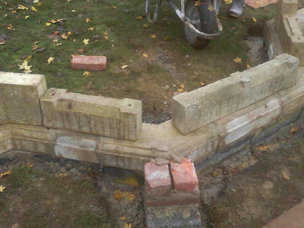 Wie Sieht Der Bau Einer Gartenruine In Einzelnen Schritten Aus?