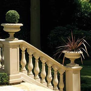 Balustrade-Form-Treppenaufgang
