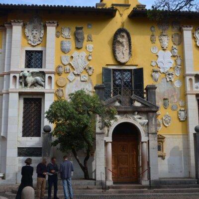 Gartengestaltung der Villa D'Annunzio