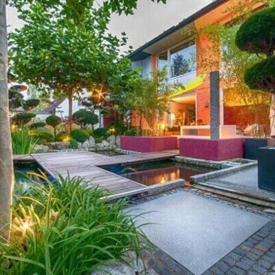 Moderne Gartengestaltung © Fotolia.com