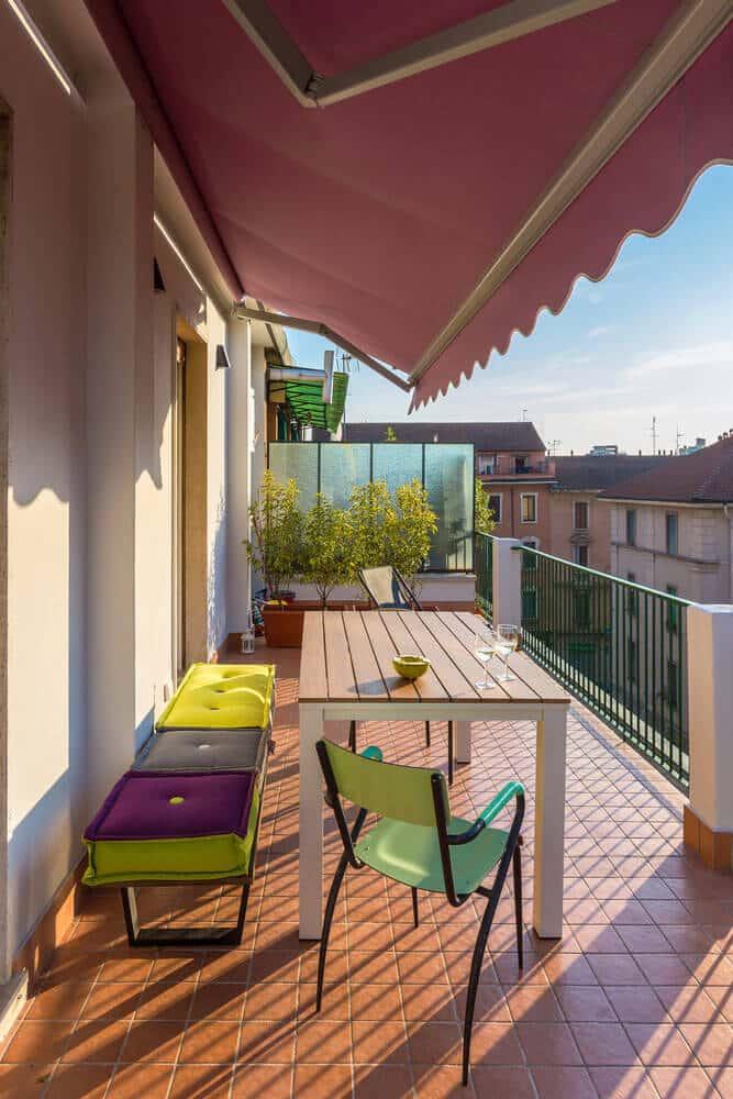 sonnenschutz f r balkon terrasse kaufberatung f r sonnenschirm co. Black Bedroom Furniture Sets. Home Design Ideas