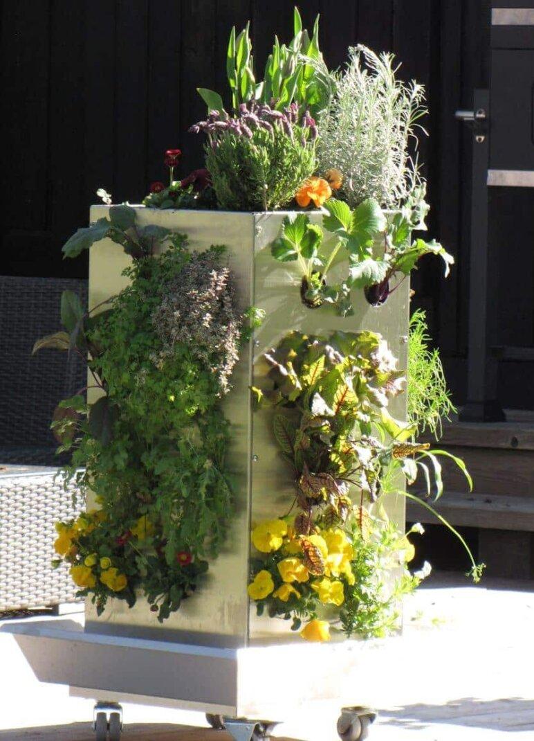 Vertikaler Garten Kaufen : vertikaler garten diy wie sie ihn aus paletten einfach selber bauen k nnen ~ Watch28wear.com Haus und Dekorationen