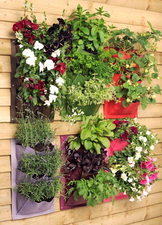 Sehr Vertikaler Garten DIY - Wie Sie ihn aus Paletten einfach selber IL78
