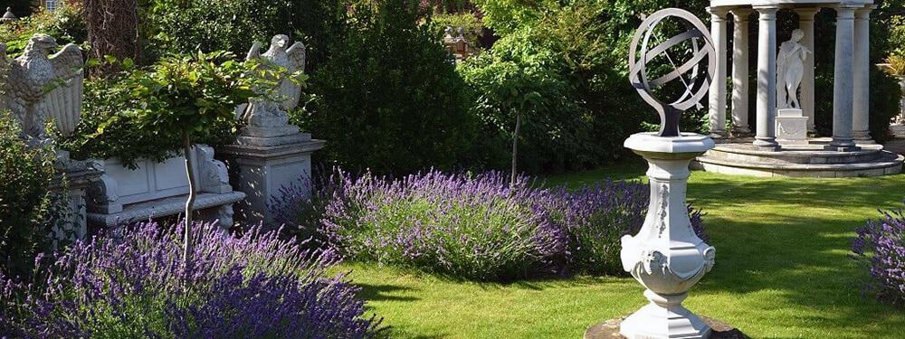 Gartentrends 2018 Sonnenuhr