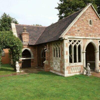 Gartenhaus im Englischen Stil