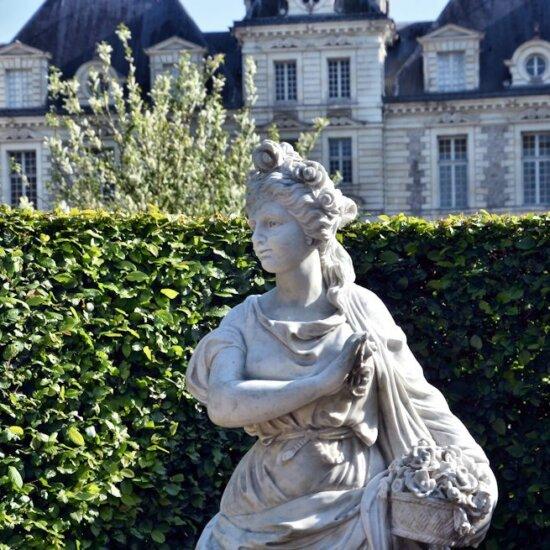 Antike Figur für den Barockgarten