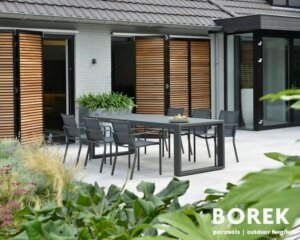 Gartenmöbel-Set aus Aluminium
