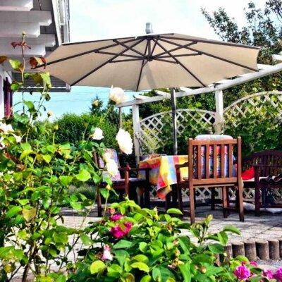 Eine Terrasse kann vielfältig gestaltet werden