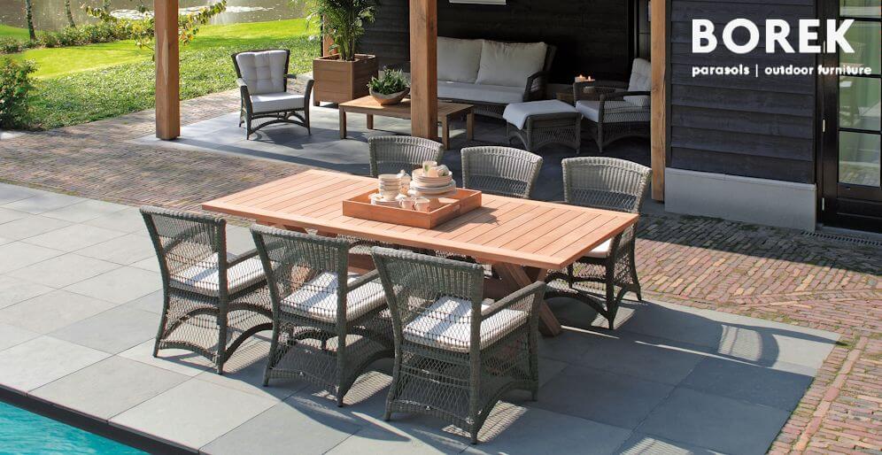 Sitzgarnituren für die Terrasse