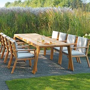 Eine Grafik zu Exklusive Gartenmöbel kaufen