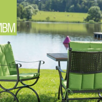 Großer Teich mit Sitzgruppe © MBM