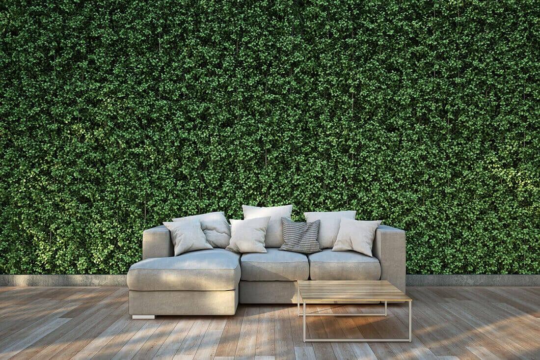 sichtschutz im garten aus holz kunststoff pflanzen 25 ideen bilder. Black Bedroom Furniture Sets. Home Design Ideas