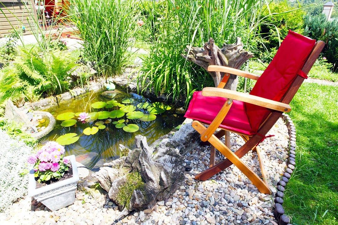 Kleinen Gartenteich Anlegen Gestalten 20 Ideen Bilder Deko