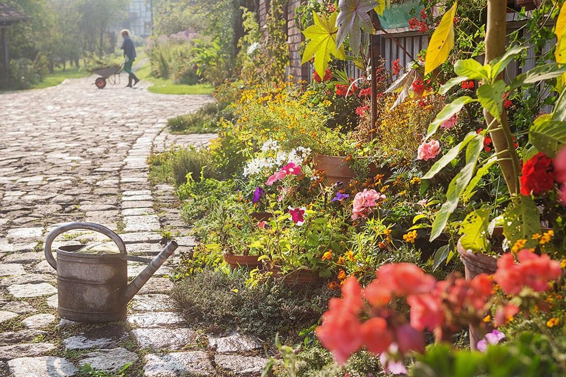 Der Frühling ist die schönste Zeit im Garten