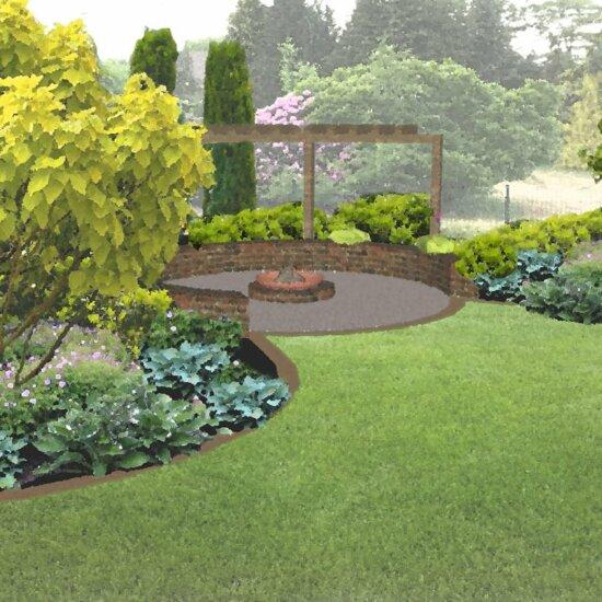 Gemütlicher Garten © Stockreiter