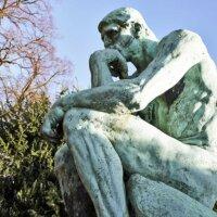Denker-Statue