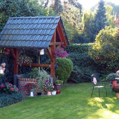 Alte Elemente können bei der Neugestaltung des Gartens wiederverwendet werden