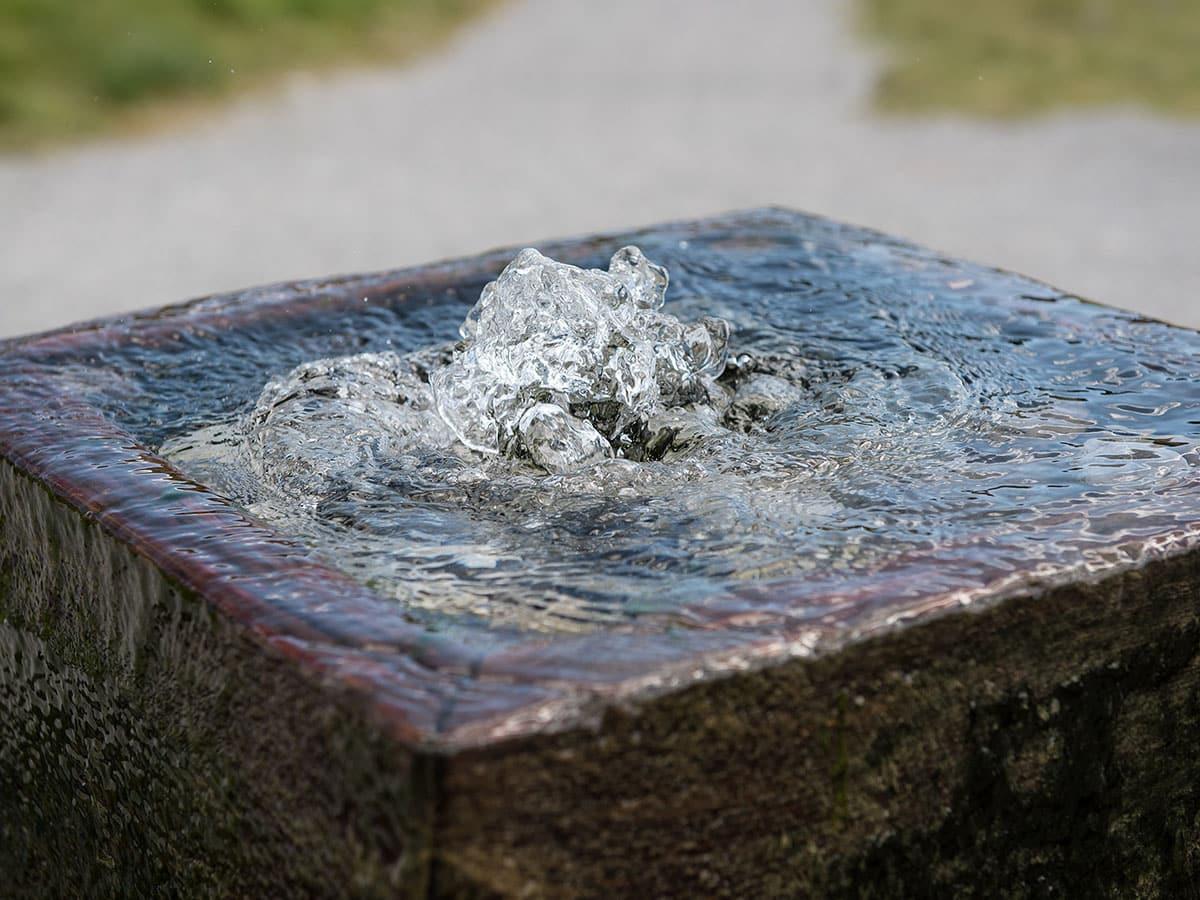 Häufig Gartenbrunnen aus Stein selber bauen - 20 moderne Ideen mit Bildern LB35