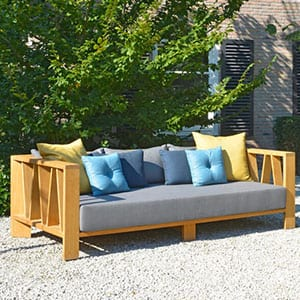 Exklusive Gartensofa