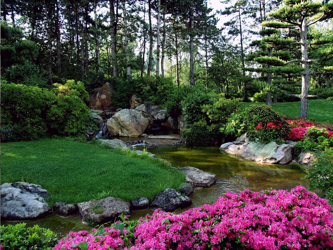 Bachlauf Im Garten Anlegen Bzw Selber Bauen Anleitung Tipps