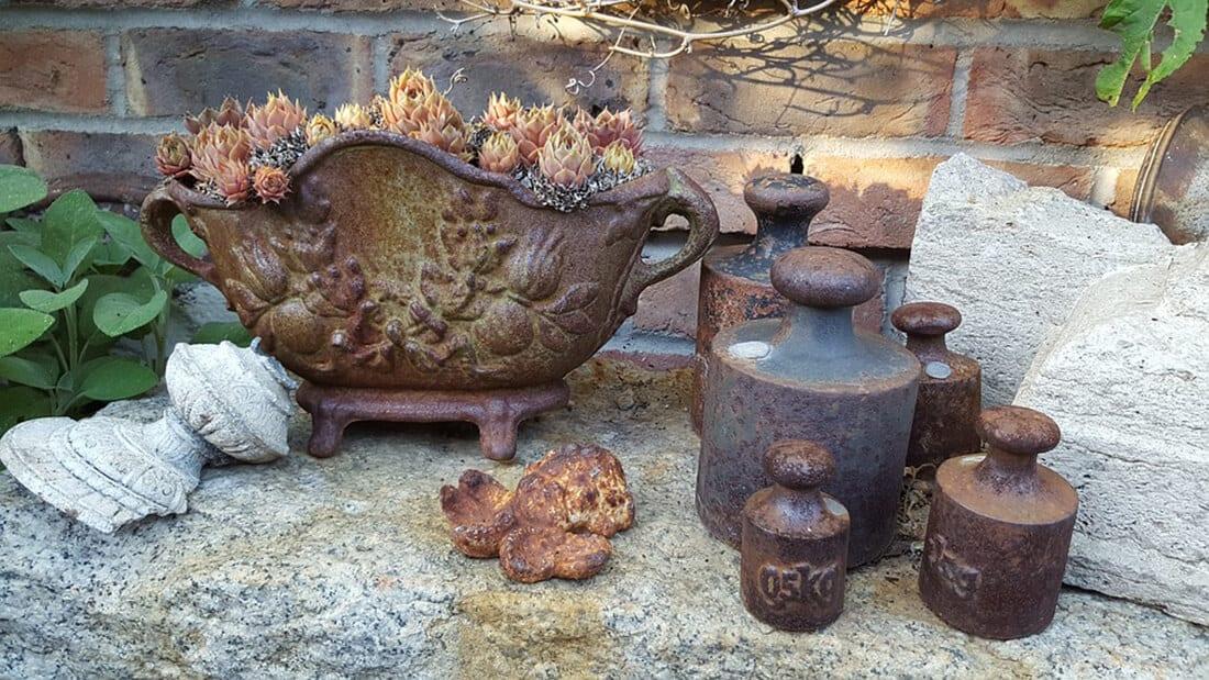 Gartendekoration modern klassisch 25 ideen aus for Gartendekoration aus rost