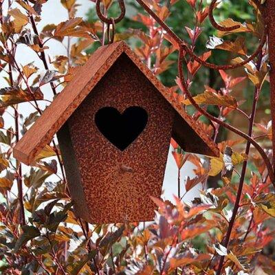 Rostiges Vogelhaus