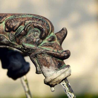 Außergewöhnlicher Wasserhahn
