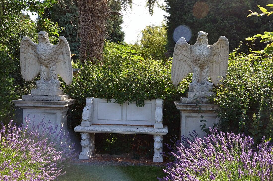 Gartendekoration Modern Klassisch 25 Ideen Aus Metall Holz Stein