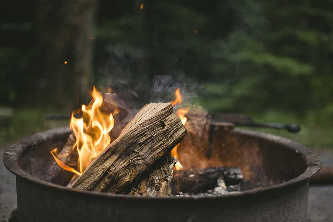 Feuertonne für den Garten