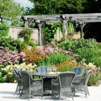Die Pergola ist kein Gartenpavillon, wird aber oft dafür gehalten.