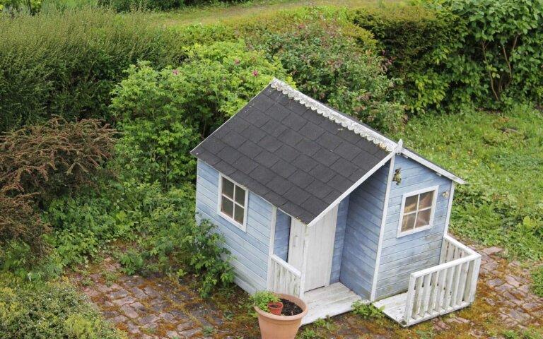 Gartenhaus selber bauen – Kosten  Anleitung & Beispiele