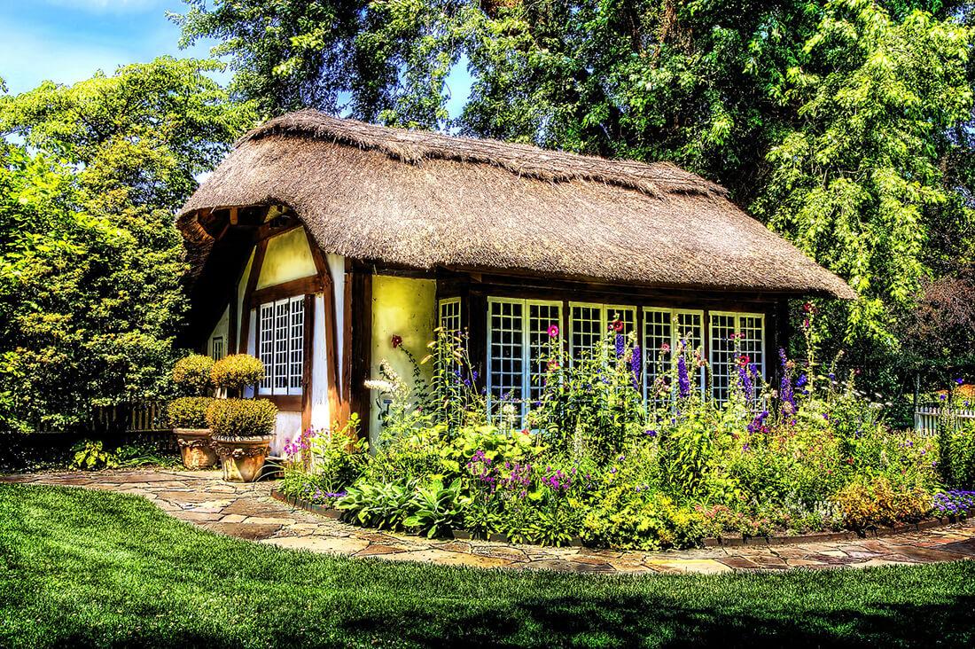 Super Gartenhaus selber bauen - Kosten-Überblick, Bauanleitung & Beispiele RX38