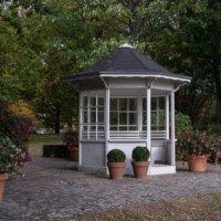 Gartenpavillon als Gartenhaus